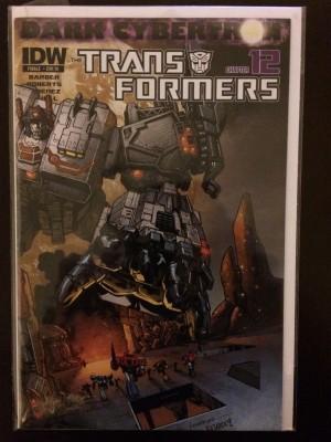 Transformers Dark Cybertron #12 RI – a