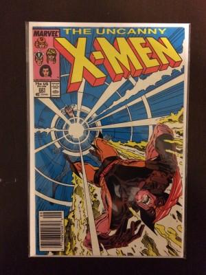X-Men #221 – VG – 12-22-16