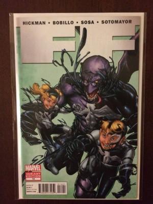 FF 2012 #14 1-50 Venom Variant – 4-25-17