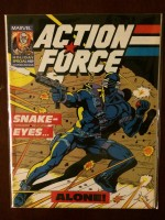 Action Force 1987 #1 Gi Joe Snake Eyes