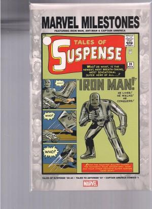 Ant-Man & Iron Man – Marvel Milestone Tales of Suspense #39 & Tales to Astonish #27 – a