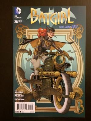 Batgirl 2014 #28 Steampunk – a