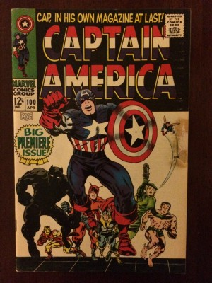 Captain America 1968 #100 front – b – 5-5-17