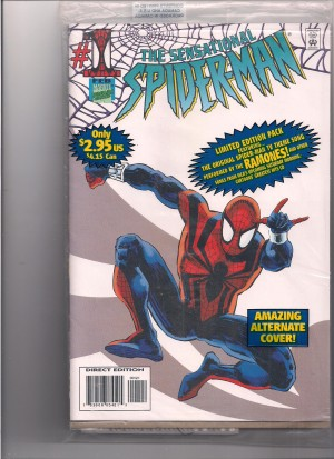 Cassette – Sensational Spiderman #1 Sealed – front