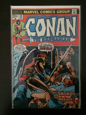 Conan The Barbarian #23 – VG-FN – 2-27-17
