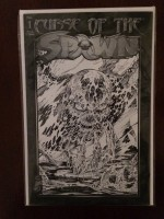 Curse of Spawn 1996 #1 BW Var - a