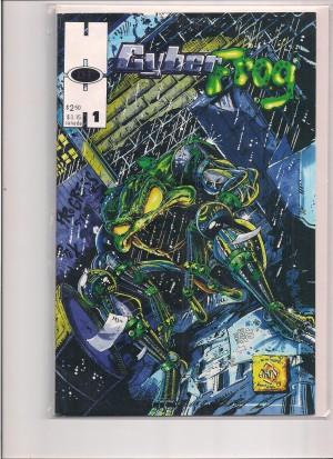 Cyberfrog 1994 #1 – b VF