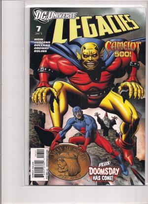 DC Universe Legacies #7 Variant – a