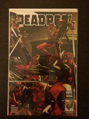 Deadpool 2008 #2 2ND Print – a