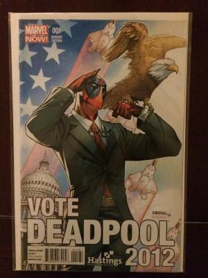 Deadpool 2012 #1 Hastings Var – a