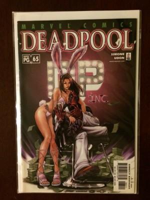 Deadpool #65 VG – b
