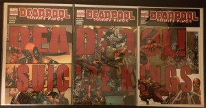 Deadpool Suicide Kings 1-3 2nd Print Set – a