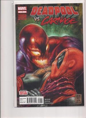 Deadpool Vs Carnage #1 – 8-24-16