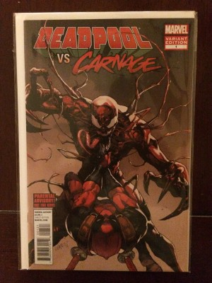 Deadpool vs Carnage #1 Var – a