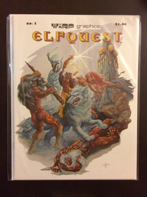 Elfquest 1978 #1 First Printing – 2-21-17