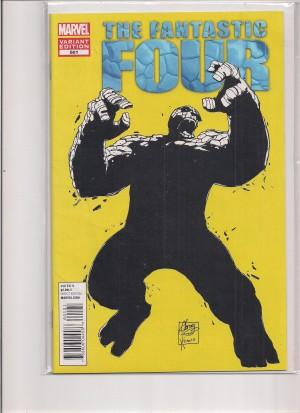 Fantastic Four Hulk #601 1-50 Variant – a