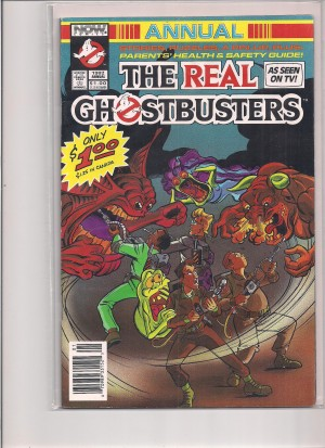 Ghostbusters Annual 1992 – a