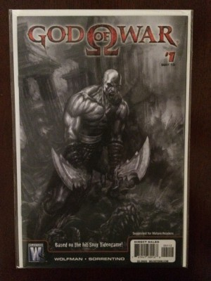 God of War 2010 #1 2nd Print – a