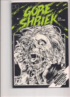 Gore Shriek 1986 #1 – c
