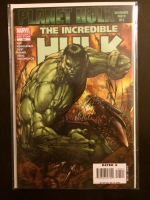 Hulk #100 Variant Green – a