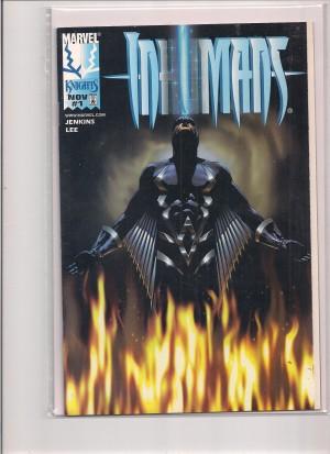 Inhumans #1 DF – a