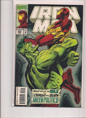 Iron Man #305 – g