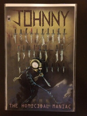 Johnny The Homicidal Maniac 1995 #1 THIRD Printing – a
