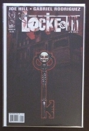 Locke and Key 2008 #1 SECOND Printing – a