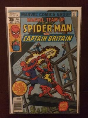 Marvel Team Up #65 – a