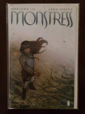 Monstress 2015 #1 3rd print – c