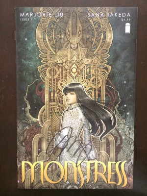 Monstress 2015 #1 Signed NM