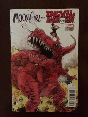Moon Girl and Devil Dinosaur 2015 #3 Var – b