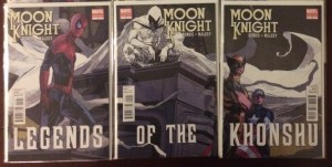 Moon Knight Variant Conneting Set of 3