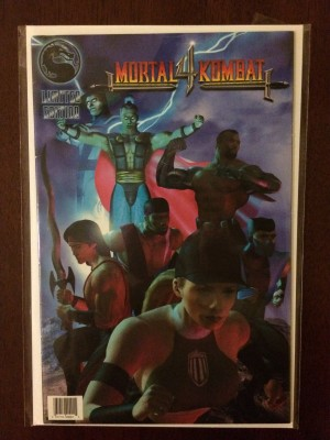 Mortal Kombat 4 Limited Edition 1998 #1 – b