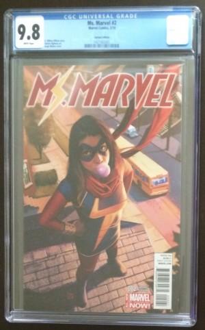 Ms Marvel 2 1-50 Molina CGC 9-8
