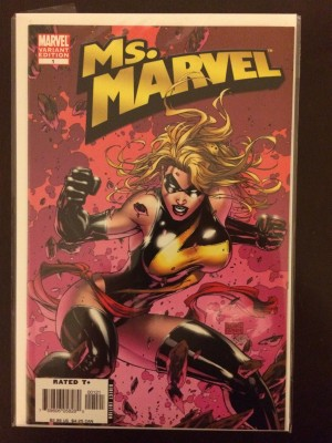 Ms Marvel 2006 #1 Variant – 10-15-16