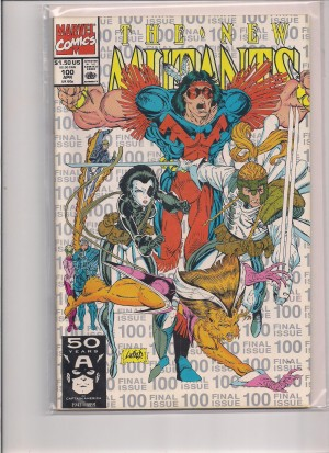 New Mutants #100 – 3rd Print – a