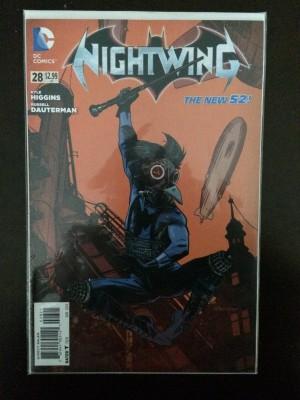 Nightwing 2014 #28 Steampunk FN – a