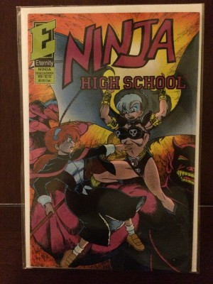 Ninja High School #38 – a