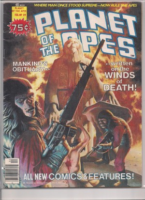 Planet of the Apes #29 – a