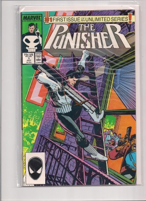 Punisher 1987 #1 – a