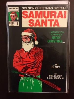 Solson Christmas Samurai Santa 1986 #1 – e