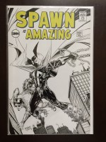 Spawn #221 Sketch - a