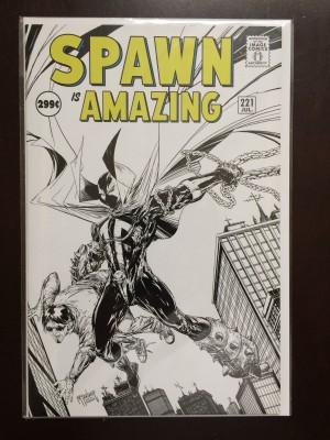 Spawn #221 Sketch – a