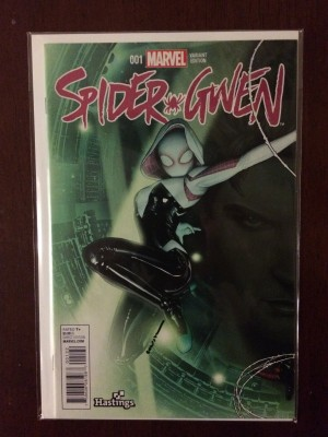 Spidergwen 2015 #1 Hastings