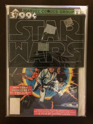 Star Wars 1-3 1977 Reprint Sealed Pack – a