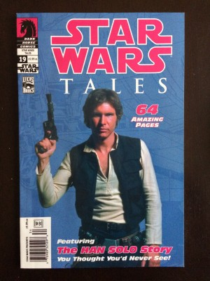 Star Wars Tales #19 Solo Photo Cover – NM front – 2-28-17