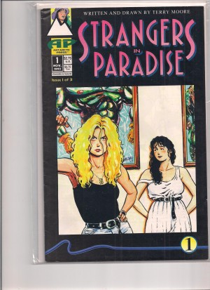 Strangers In Paradise 1993 #1 First Print – b