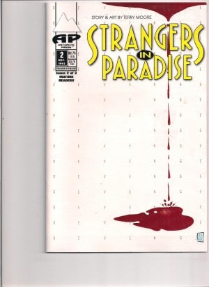 Strangers in Paradise 1993 #2 – a