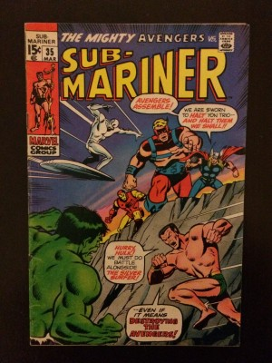 SubMariner #35 – front – a
